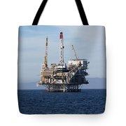 Oil Rig Tote Bag