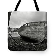 Old Abandoned Ships Tote Bag