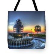 Pineapple Glowing Tote Bag