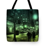 9 P M In The City Tote Bag