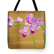 Purple Orchid-12 Tote Bag