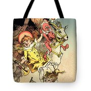Reproduction Of A Poster Advertising Tote Bag by Jules Cheret