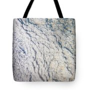 Silica Deposits In Water By The Tote Bag