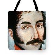 Simon Bolivar (1783-1830) Tote Bag