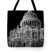 St Pauls Cathedral London Art Tote Bag
