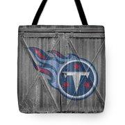 Tennessee Titans Tote Bag by Joe Hamilton