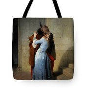 The Kiss Tote Bag