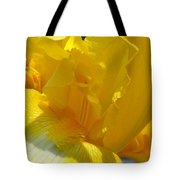 Yellow Iris 2 Tote Bag