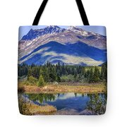 90524-23 In The Bull River Valley Tote Bag