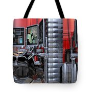 911 Console Station Tote Bag