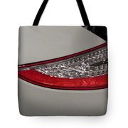 911 Taillight Tote Bag