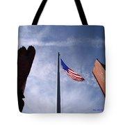 911 Tribute At Winslow Arizona Tote Bag