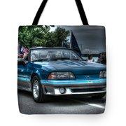 92 Mustang Gt Tote Bag