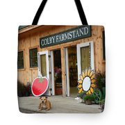 #923 D720 Colby Farm Stand Tote Bag