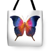 96 Brushfoot Butterfly Tote Bag by Amy Kirkpatrick