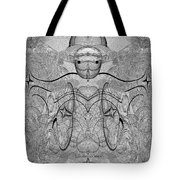 989 - Giant Creature Fractal ... Tote Bag