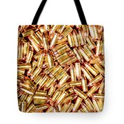 9mm Brass Ammo Tote Bag