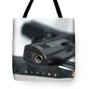 9mm Gun And Ammo Tote Bag