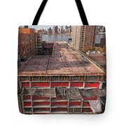 9th Floor Forms Tote Bag