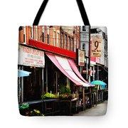 9th Street Italian Market Philadelphia Tote Bag