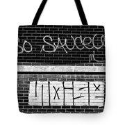 9th Ward Creativity Bw Tote Bag