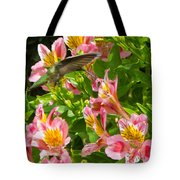 A Annas Humming Bird Tote Bag