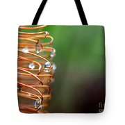 A Banksia Flowers Hold On Water Tote Bag