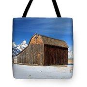 A Barn With A View Tote Bag