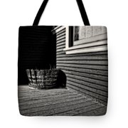 Over A Barrel Tote Bag