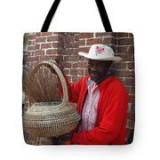 A Basket Case Tote Bag