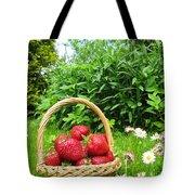 A Basket Of Strawberries Tote Bag