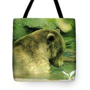 A Bear Bath Tote Bag