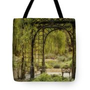 A Beautiful Place To Relax And Reflect Tote Bag