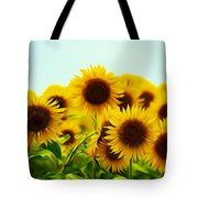 A Beautiful Sunflower Field Tote Bag