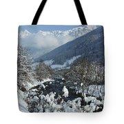 A Beautiful Winterday - Austrian Alps Tote Bag