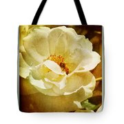 A Bee And Rose Tote Bag