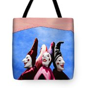 A Bevy Of Jesters Tote Bag
