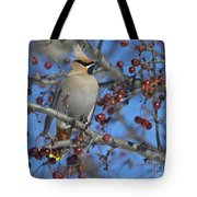 A Bird For Its Crest.. Tote Bag