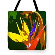 A Bird In Paradise Tote Bag