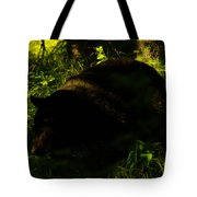 A Black Bear Tote Bag