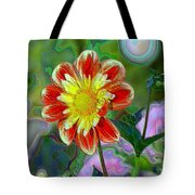 A Blooming Smile  Tote Bag