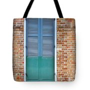 A Blue Door In New Orleans Tote Bag