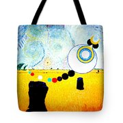 A Blustry Day In Wheatshire Tote Bag