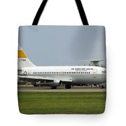 A Boeing 737-200 Of The Indonesian Air Tote Bag