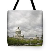 A Bonsecours Day  Tote Bag