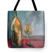 A Bottle Of White... Tote Bag