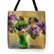 A Bouquet Of Lilac Tote Bag
