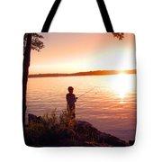 A Boy's Dream Tote Bag