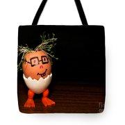 A Brave Eggman. Easter People Series Tote Bag