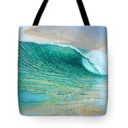 A Break In The Clouds Tote Bag by Nathan Ledyard